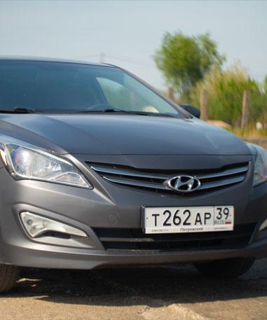 3. Hyundai Solaris МКПП 2015-2019