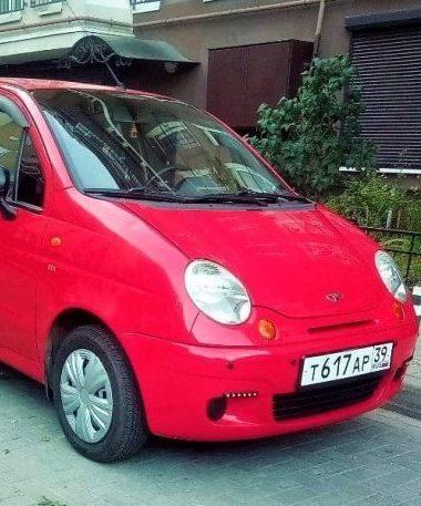 1. Daewoo Matiz хетчбек АКПП 2012