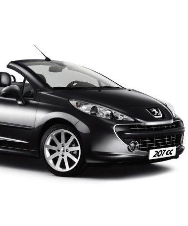 2. Peugeot 207 CC АКПП кабриолет